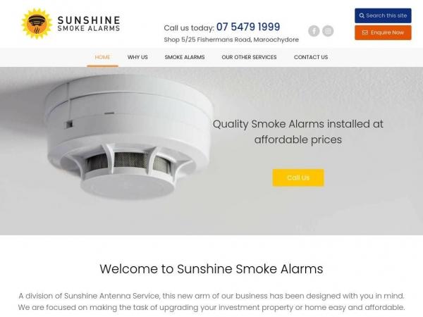 sunshinesmokealarms.com.au