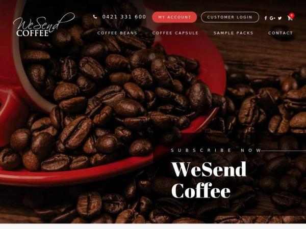 wesendcoffee.com